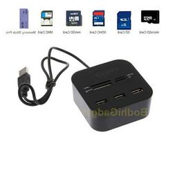Combo Hub Multi-Memory Card Reader with 3 USB 2.0 Ports