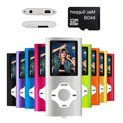 Mymahdi Digital Compact and Portable MP3 / MP4 Player suppor