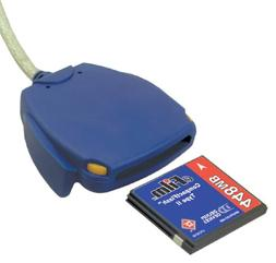 Delkin DDREADER-12 USB Card Reader for CF Type I and II