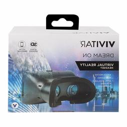 Vivitar Dream On Virtual Reality Headset 3D Video Experience