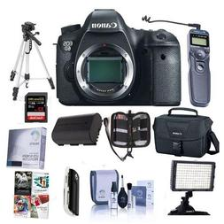 Canon EOS-6D DSLR Camera Body, 20.2 MP - Bundle with 32GB SD