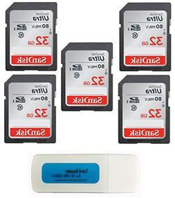 Everything But Stromboli SanDisk 32GB Ultra - 5 Pack Bundle