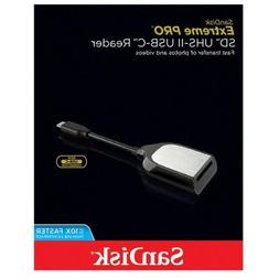 SanDisk Extreme-Pro Card Reader for SD UHS-II Memory Cards w