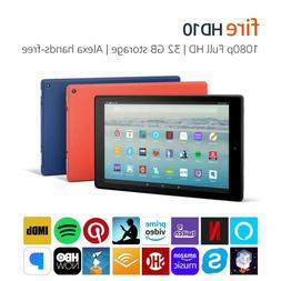 """Fire HD 10 Tablet with Alexa Hands-Free 10.1"""" 1080p Full HD"""