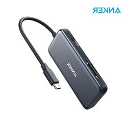 <font><b>Anker</b></font> USB C Hub,5-in-1 USB C Adapter & 4