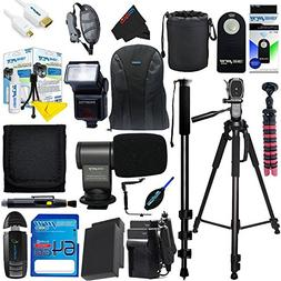 I3ePro Pro Accessory Kit with 64GB SD Card + SLR BackPack +