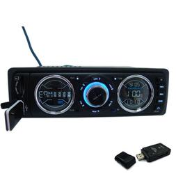 IMAGE Car in Dash Stereo Audio FM Receiver with MP3 Player U