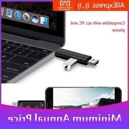 In 1 USB 2.0 Type C / USB / Micro USB SD TF Memory <font><b>