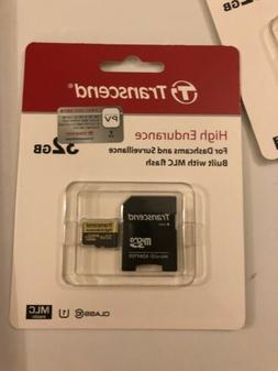 Transcend Information 32GB High Endurance microSD Card with
