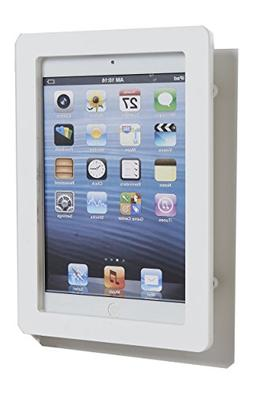 iPad mini 1/2/3 White Acrylic Security Anti-Theft Enclosure