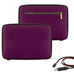 "Vangoddy Irista Series 10"" Premium PU Leather Tablet Padded"