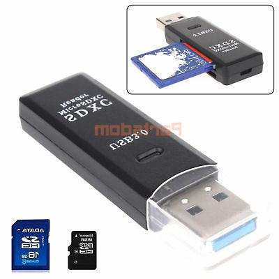 2 3.0 Micro SD TF T-Flash Memory Card Reader up to 5 Gbps
