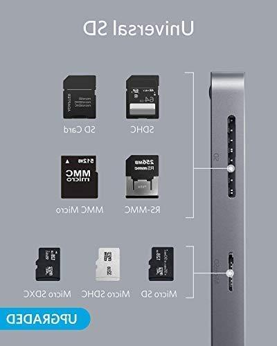 Anker 7-in-1 Adapter, with to HDMI, Card Reader, 3 Ports, with Power ChromeBook, XPS, and