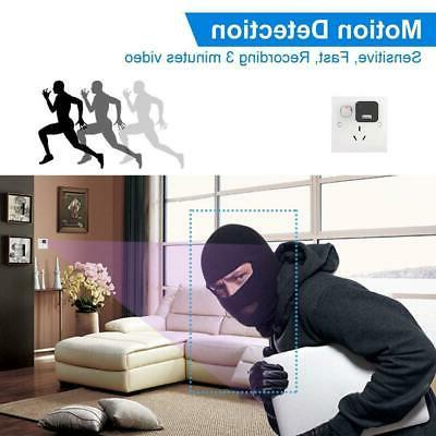 1080P Wall Adapter Security Camera with