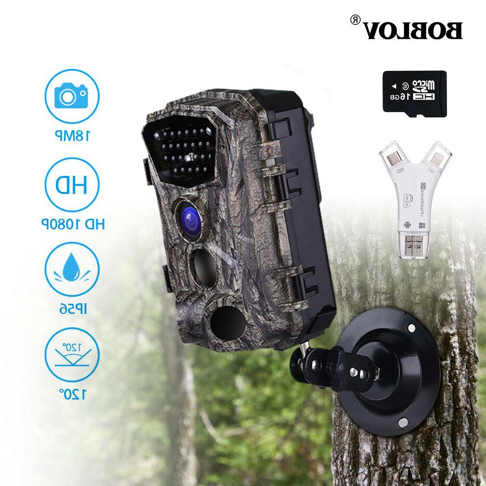 18MP Vision Wild Scouting Camera Card