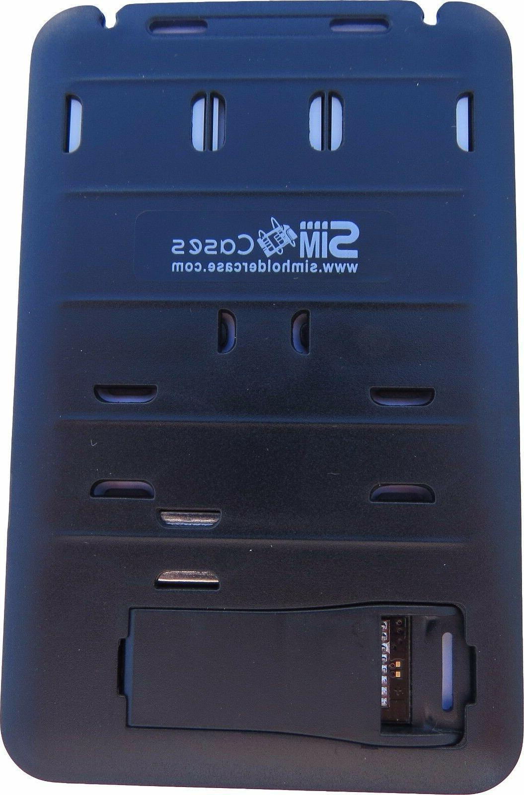 2 X Storage Holder with memory reader sim Adapters