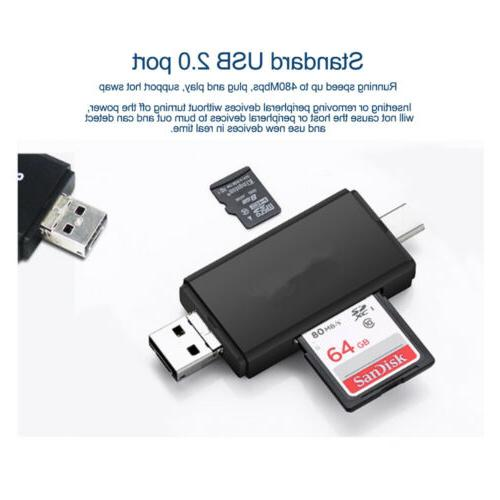 2018 Micro USB to 2.0 SD Android Phone