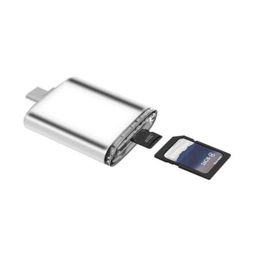 2018 Functional 3 in 1 Type USB-C TF Micro OTG Reader