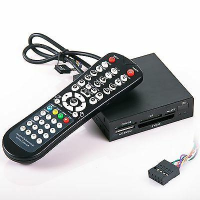 3.5 Internal Memory Card Reader w/ remote control for PC & W