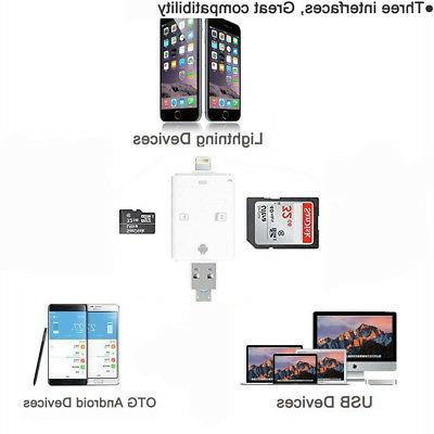 3 1 TF SD Card Reader fit Android Device