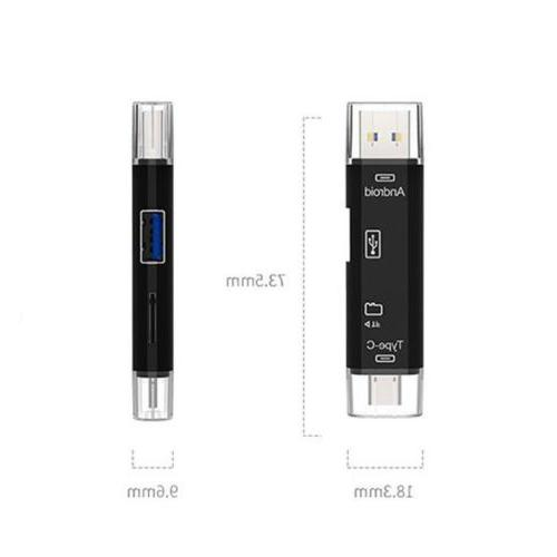 Memory Card Reader+OTG Cable for LG Q Stylus