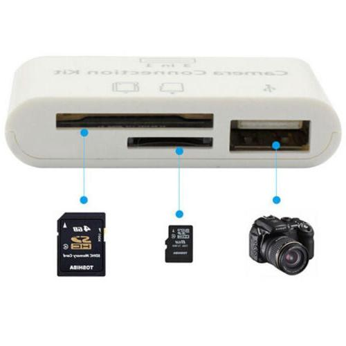 3in1 Micro SD Camera Link for iphone 8 6