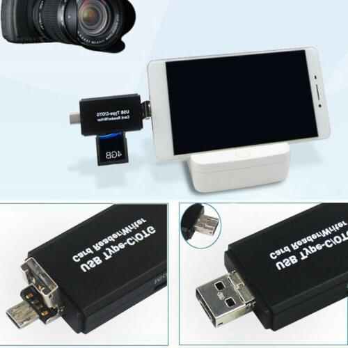 USB-C TF Card For Phone Android Tablets