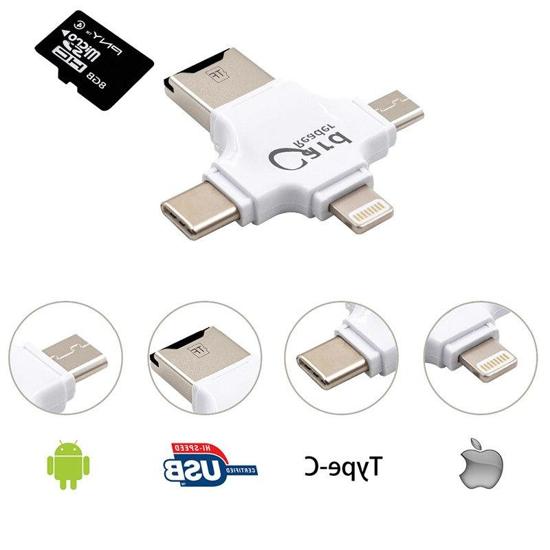 USB C Cardreader for Android 7plus 6s5s TF <font><b>SD</b></font>