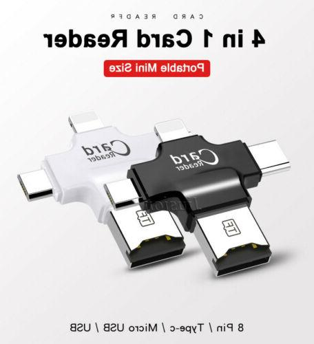 4 in SD Card USB Android iPhone