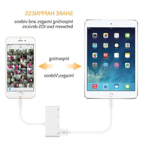 Adapter Micro SD Memory Slot for iPhone