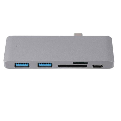 5 1 Type-C Hub Charging Port Card Reader For