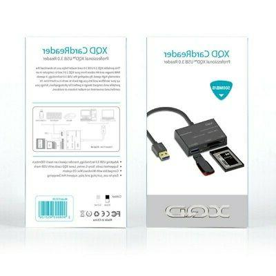 3in1 USB Data XQD1 Hub High-Speed