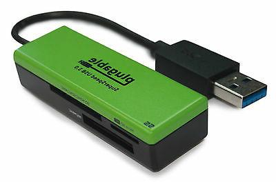 Plugable USB Flash Memory Card for and Android - Supports SDXC, Micro T-Flash, MS, MS Pro Duo, MMC, and more