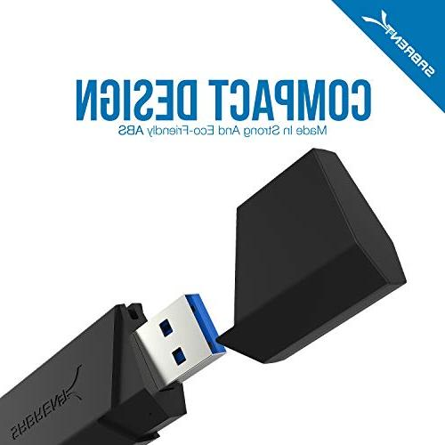 Sabrent SuperSpeed 2-Slot 3.0 Reader for Windows, Mac, Linux, Systems - SDHC, SDXC,