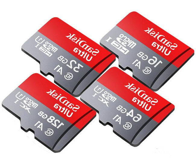SanDisk Ultra A1 micro Card Lot