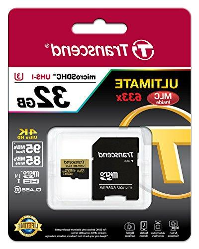 Class 10 Memory Card with 95 Mb/s