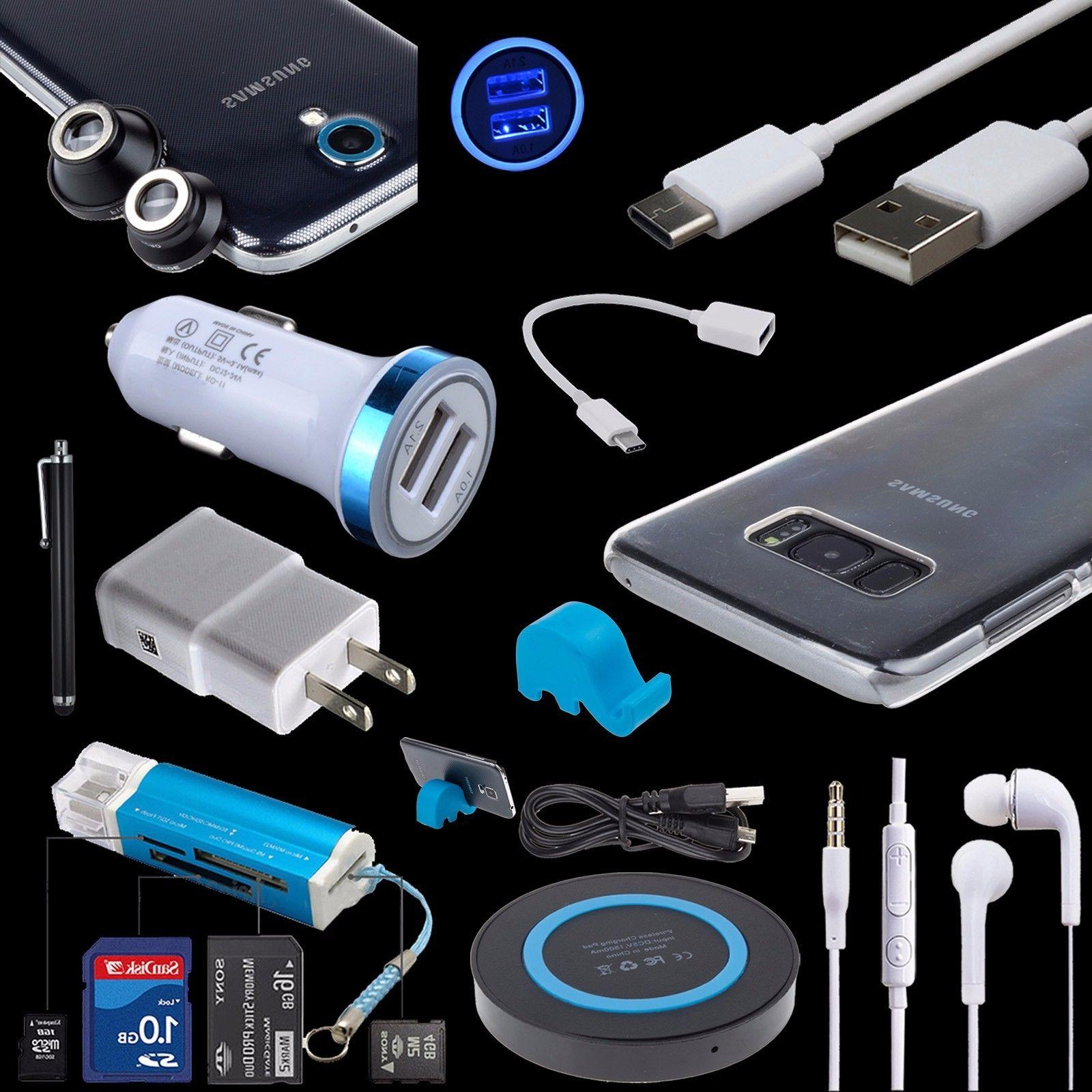 accessory bundles qi wall car charger cable