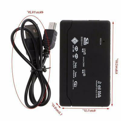 All USB Compact Multi Card Reader Micro