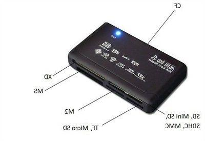 All SD Reader to Multi-Card Memory Reader
