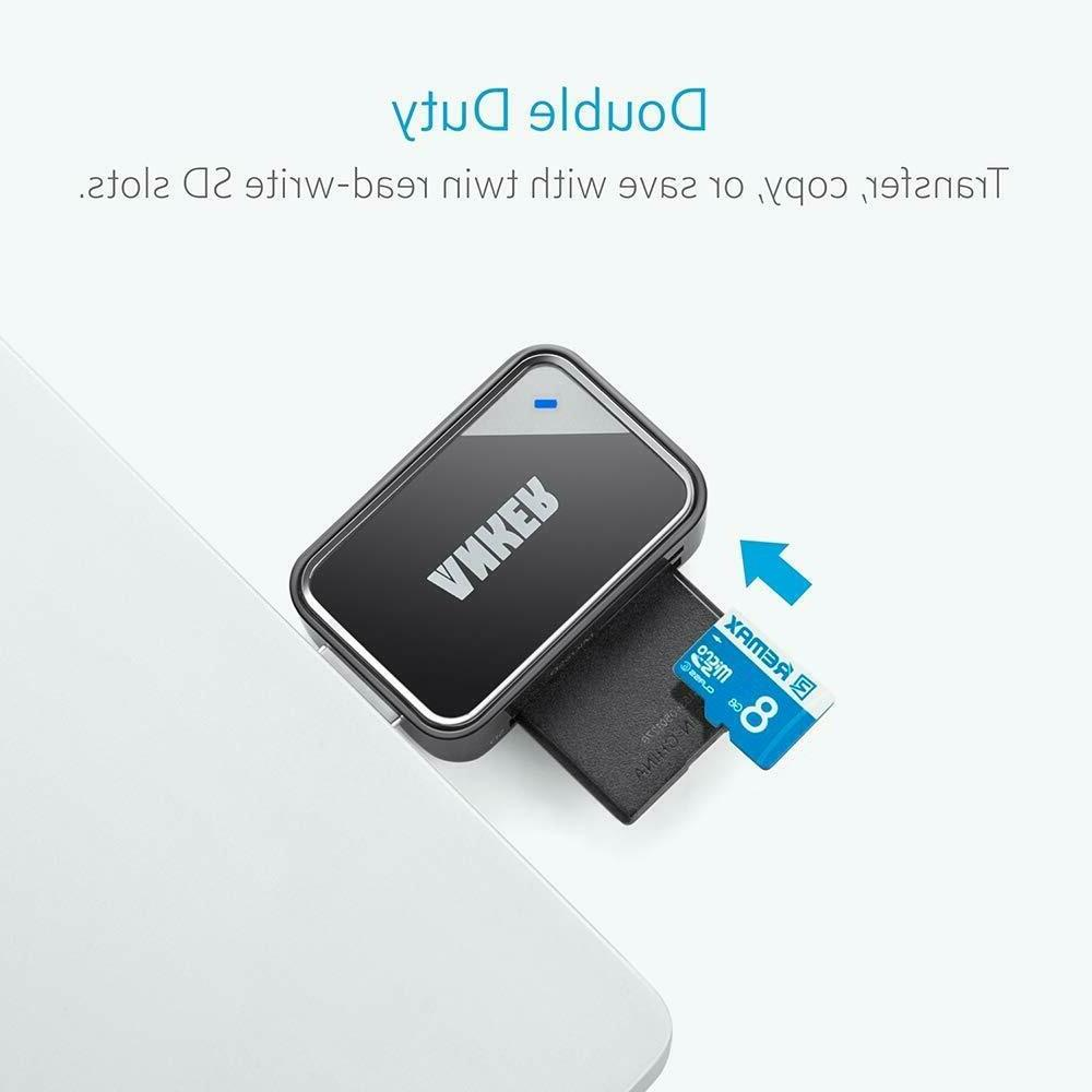 Anker USB 3.0 Portable Reader SDXC,SDHC,SD,MMC,RS-MMC and