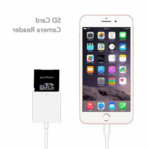 Camera Memory Lightning to adapter For 8 Plus