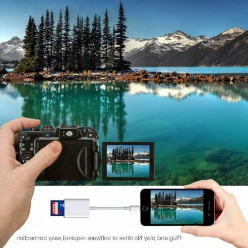 Camera Reader SD Card For iOS 7 Plus 11 XS