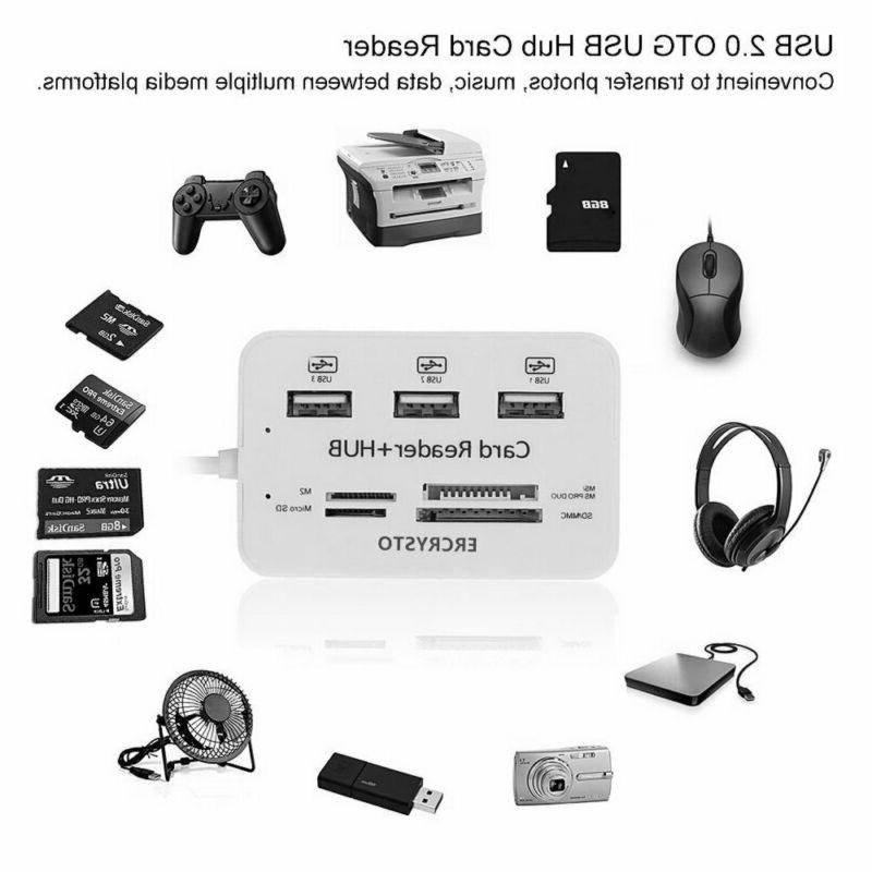 Ercrysto Card And Ports High Speed External Memory Card