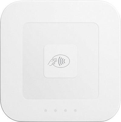contactless and chip reader white