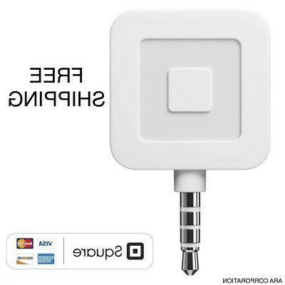 Brand New Square Credit Debit Apple iPhone and Android White