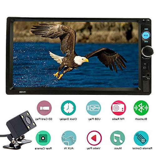 double din bluetooth receiver