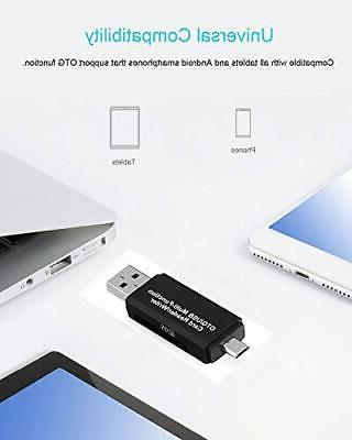Easy Card 3 In Type C/Micro Usb Adapter Otg Function