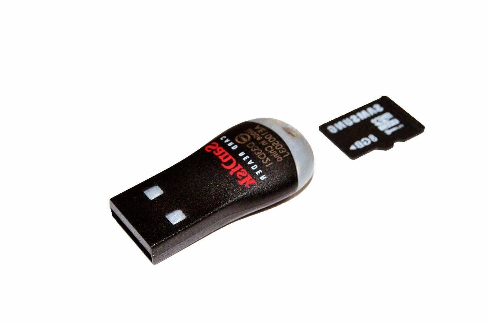 2x SDDR-121-G35 MobileMate USB Card Drive Reader