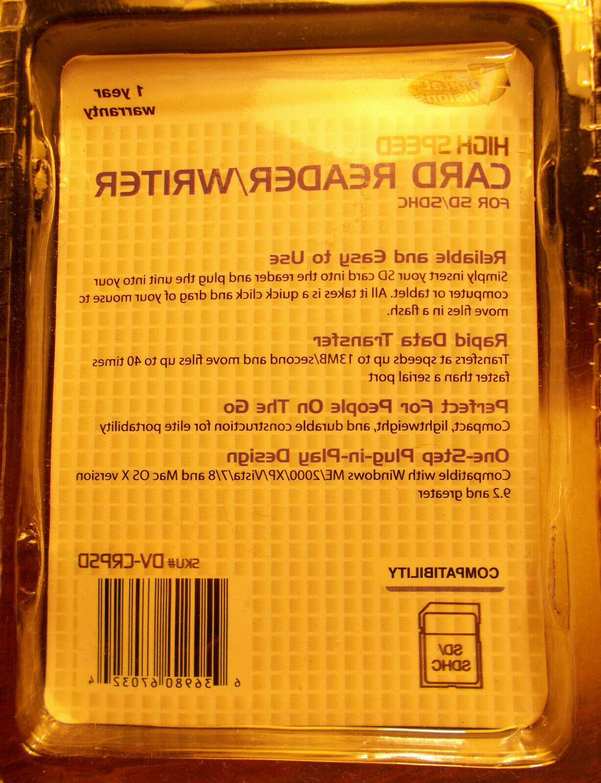 Digital Speed Card Reader Writer, New in package