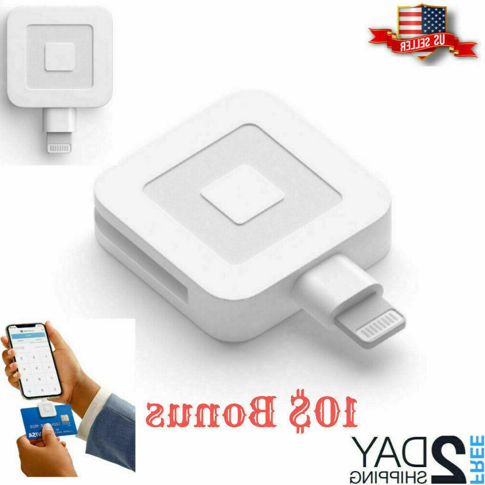 Lightening Connector Square Card Reader for Apple iPhone 7,